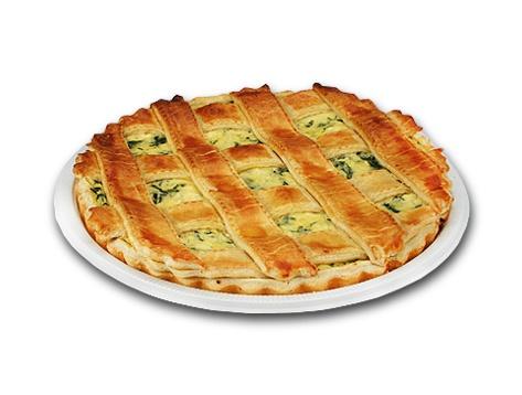 Torta Espinafre com Ricota
