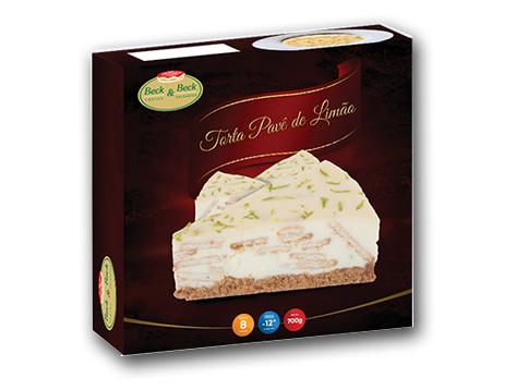 Torta Pavê de Limão